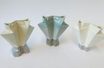 Vases écorces de pliages